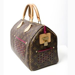 Authentic Louis Vuitton perforated speedy 30
